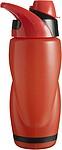 ARNOR Plastová láhev na pití o objemu 0,65 l, červená