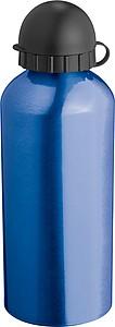 Velká hliníková láhev, 0,6 l, modrá
