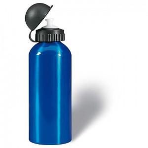PARBAT kovová jednostěnná láhev, modrá