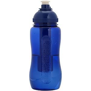 Chladící láhev na nápoje, modrá