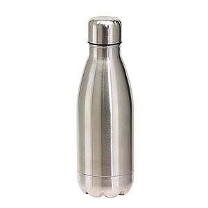 Nerezová láhev na pití ve tvaru PET láhve, 600ml