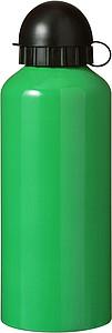 Kovová láhev na pití, zelená