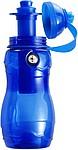 MEKONG Plastová láhev s kompasem, 400 ml, modrá