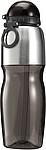 SPEDR Sportovní láhev, nerez a transp. černý plast, 800ml