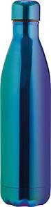 Nerezová láhev na pití ve tvaru PET láhve, objem 800ml