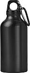 KYLBAHA Kovová láhev na pití, 0,4 l, s karabinou, černá
