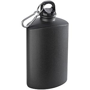 Kovová láhev na pití ve tvaru likérky, objem 600ml