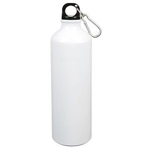 Hliníková láhev na pití, objem 750ml, bílá