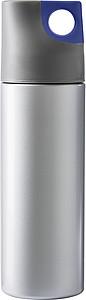 HEMAN Dvoustěnná láhev, 500 ml, šedomodrá