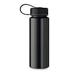 Hliníková lahev na pití jednoplášťová, 500 ml, černá