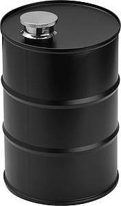 ROSWELL Nerezová láhev na pití ve tvaru sudu, objem 600ml
