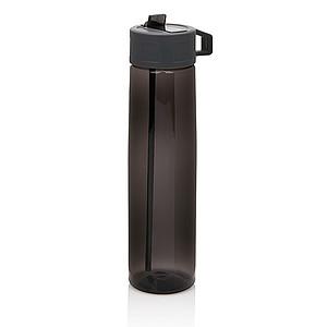 TRITAN Sportovní láhev s brčkem, objem 750 ml, černá