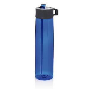 TRITAN Sportovní láhev s brčkem, objem 750 ml, modrá