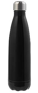 Dvoustěnná láhev na vodu o obsahu 300 ml, černá