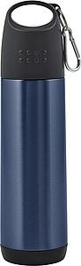 Dvouvrstvá termoska o obsahu 500 ml, modrá