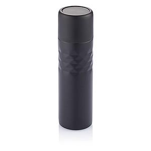 ESTERKA Módní nerezová termoska s dvojitou stěnou, objem 500 ml, černá