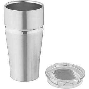 Vakuová termoska, stříbrná