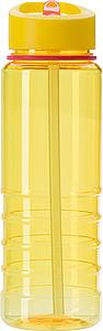 BALORA Tritanová láhev na vodu o objemu 700 ml, žlutá