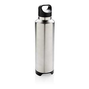 Termo láhev s bezdrátovým reproduktorem, šedá