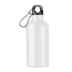 Hliníková láhev na pití, 400ml, bílá