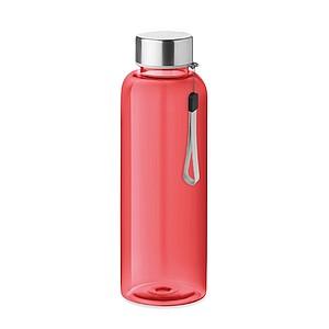 Láhev na pití z RPET, 500ml, červená