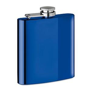 Tenká placatka, lesklý povrch, 175ml, královská modrá