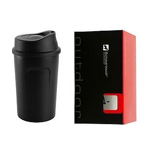 SCHWARZWOLF LIARD termohrnek 360 ml - černý reklamní zapalovač