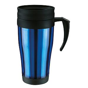 UNDO Plastový termohrnek modrý, 400 ml