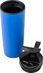 FIRION Cestovní termohrnek 450 ml s přísavkou na dně, modrý