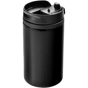 Termohrnek se šroubovacím víčkem, objem 300 ml, černá