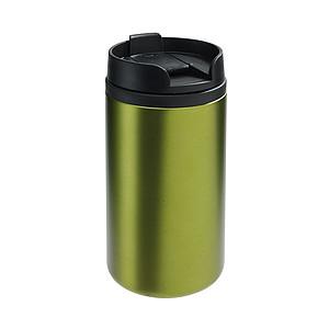BEDYS Termohrnek 250ml, uvnitř plast, zvenku nerez, zelený