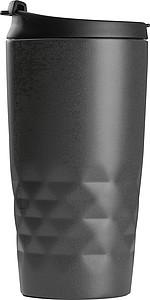 Nerezový termohrnek 300ml s víčkem, antracitový
