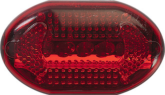 Sada dvou světel na kolo, přední bílé, zadní červené