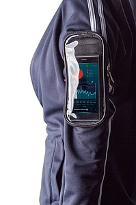 Taška na kolo, polyester (600D), s reflexním pruhem