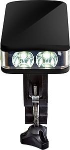 FIRAON Svítilna na kolo s CREE LED světlem, černá