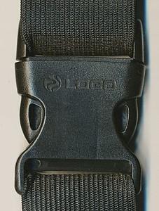 SCHWARZWOLF RAVIK multifunkční elastický pás s kapsou,modrý