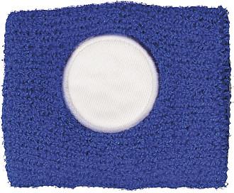 Potítko s bílým kolečkem, modré