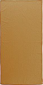 Sportovní ručník 40x80cm v nylonovém obalu, oranžová