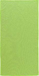 Sportovní ručník 40x80cm v nylonovém obalu, zelená