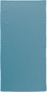 Sportovní ručník 40x80cm v nylonovém obalu, modrá