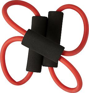MARIBOR Elastická posilovací guma, červená