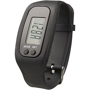 Chytré hodinky s krokoměrem Get-Fit, černá