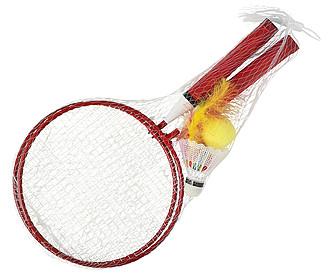 Sada na badminton, červená