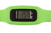 RAHANO Krokoměr ve tvaru hodinek se silikonovým páskem, zelená