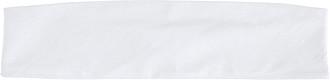 ŠIMLA Sportovní čelenka, bílá