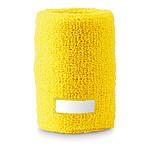 EGO Potítko na zápěstí se štítkem pro potisk, žlutá