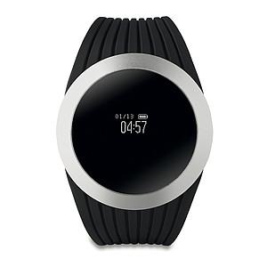 4.0 Bluetooth zdravotní náramek ze silikonu, stříbrná