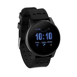 Sportovní chytré hodinky, černé
