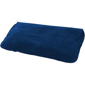 Nafukovací cestovní polštářek, námořní modrá