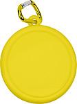 BANTON Skládací kelímek s karabinou, žlutý